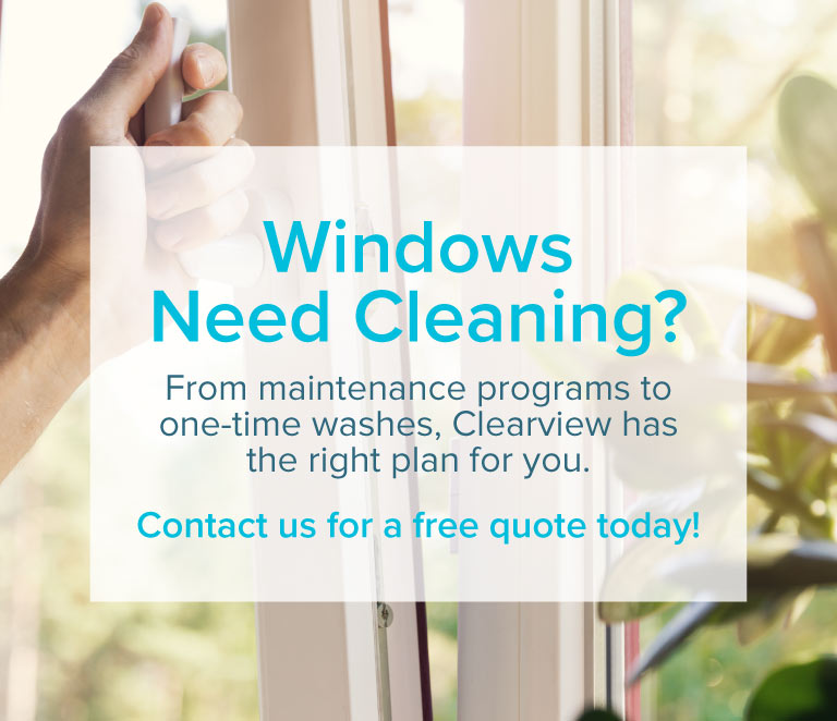 Clearview Window Cleaning - Residential, Commercial, Industrial, Grande Prairie, Alberta